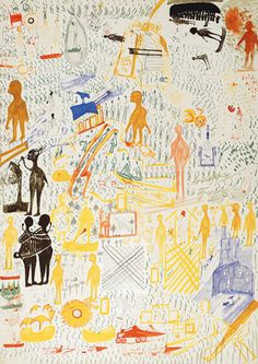ART BRUT / collection ABCD :: ZINELLI carlo
