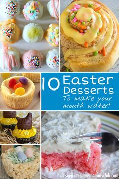 Oh my - so many Easter desserts to choose from I can't decide!