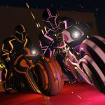GTA 5 : une mise à jour façon Tron est disponible pour le mode en ligne