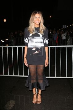 Ciara Photos - Ciara attending the Givenchy Womenswear SS14 during Paris Fashion Week Womenswear Spring/Summer 2014 in Paris. - PFW: Arrivals at Givenchy