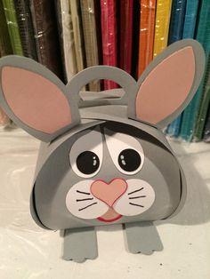 Stampin'Up! Curvy keepsake box, Easter, Rabbit, Lapin