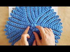 Yuvarlak Yaprak Lif Yapımı - YouTube