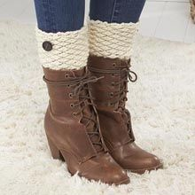 Nordic Boot Cuffs  ~ free pattern ᛡ