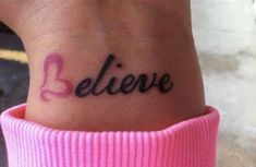 I Believe I will get this tattoo, But It will be different I will use the Pink B, and it will be Breathe