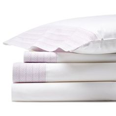 Check out this item at One Kings Lane! Herringbone Sheet Set, Lavender