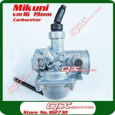 sale mikuni carburetor vm16 carb 19mm firt 70cc 90cc 110cc dirt pit bikes atv quad performance #pit #bike #parts