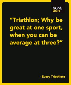 #triathlon. ....this is great.
