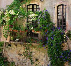 https://flic.kr/p/saBS6B | FRANCE - Provence, Alpes-de-Haute-Provence,   Moustiers-Sainte-Marie, balcony , 12635/5055 | FRANCE - Provence, , Moustiers-Sainte-Marie