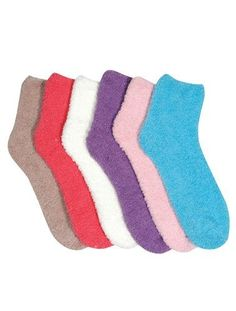 HS Winter Fuzzy Socks Plain Solid Color Design (size 9-11) 6 Colors 6 Pairs by Bonita HS. $12.99. Fluffy Fuzzy Sock || Sleep Socks || Warm and Soft || Winter Wear || Size 9-11 ||  Good Size Great Design || Made in China