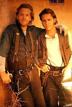 Billy the Kid and Doc! Man I love the eighties!