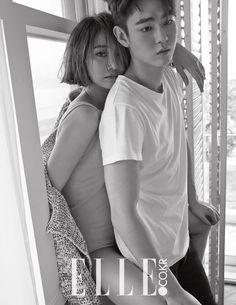 2015.05, Elle, Go Joon Hee, Han Ye Joon