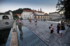 Butcher's Bridge, Ljubljana, Slovenia