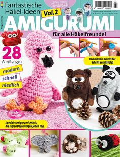 Crochet Amigurumi Made Easy Magazine : 1000+ images about Woolytoons amigurumi designs on ...