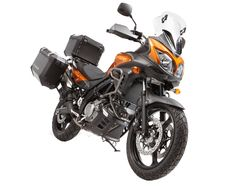 Suzuki V-Strom 650 - 2012 - these bikes are tough, utilitarian and sometimes fun! I use mine everyday (a 2008 version with ABS). In 2011 the bikes had a major face lift....