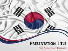 Free powerpoint template with flag of kenya background free powerpoint template with flag of south korea background toneelgroepblik Image collections