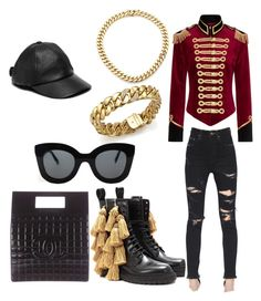 """""""Untitled #38"""" by jabriele on Polyvore featuring Pinky Laing, Burberry, Chanel, Yves Saint Laurent, Roberto Coin, CÉLINE and Kate Spade"""