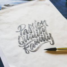 Fantastic type sketch by @bummercitytown | #typegang if you would like to be featured | typegang.com by type.gang #likedbykate