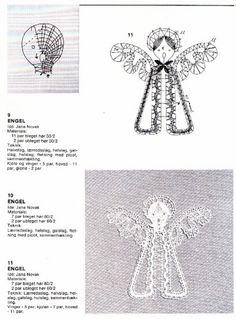 Jana Novak Julekniplinger Lace Patterns, Bobbin Lace, Crafts, Ideas, Christmas Ornaments, Needlepoint, Christmas, Needle Tatting Patterns, Manualidades