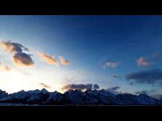 Grand Teton Sunset [ March 12 ] Teton Tube, Time-lapse