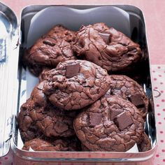 Excellent! I made these Outrageous Chocolate Cookies - added craisins to some and those were also wonderful!