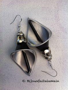 Boucles d'oreilles Nespresso Fleur de lys