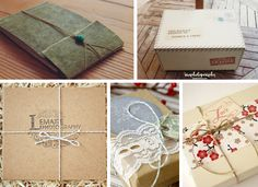 Packaging muy chulos para DVD's y Albums de fotos // Original Ideas to DVD and Photography Album Packaging