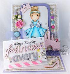 The Paper Nest: Happy Birthday Princess Avery