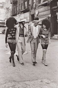 THE MOD SQUAD | 1970s  —- Harlem, New York, 1970s. Photo by Anthony Barboza.