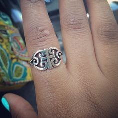 Scroll Cross Ring from James Avery Jewelry #jamesavery  | Instagram Viewer