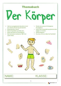 12 Sider med opgaver til begyndertysk Danish Language, Kindergarten, German, Teaching, Comics, School, Historia, Learn German, Day Care
