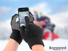The Touch-Screen Compatible Gloves - Stay Warm While You Stay Connected This Winter Season