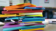 Post-its are just about the best classroom tool ever. I really like the linked article here. Read how one teacher uses Post-its first and Google docs second. Amazing.