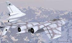 Heinkel P.1079B, all-weather, heavy fighter. . .