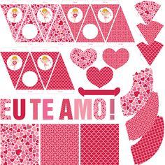 Kit Dia dos Namorados para Imprimir - Toda Atual