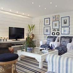 Spaces Ticking Stripes Design, Pictures, Remodel, Decor and Ideas - page 2