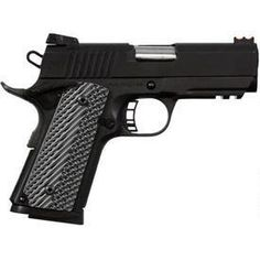 Rock Island Armory 51470 CS Tactical Pistol ACP Parkerized Rail for sale at Tombstone Tactical. 1911 Pistol, Rock Island Armory, Kimber Micro, Indoor Shooting Range, Cool Guns, Awesome Guns, Tactical Pistol, M1911, Firearms