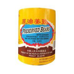 Preserved Black Bean