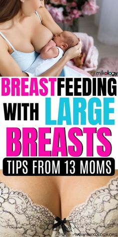 How to Breastfeed with Large Breasts tricks) — Milkology.- How to Breastfeed with Large Breasts tricks) — Milkology® How to Breastfeed with Large Breasts tricks) — Milkology® - Newborn Nursing, Child Nursing, Breastfeeding Positions Newborn, Breastfeeding Images, Newborn Baby Care, Breastfeeding Problems, Breastfeeding And Pumping, Breastfeeding After C Section, Breastfeeding Clothes