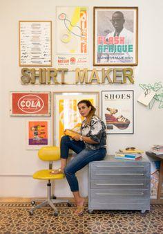 Rana Salam | Creative Director | London . Beirut. Photo by Thierry Van Biesen! Shirt Maker, Great Shots, Beirut, Creative Director, Van, Portraits, London, Shopping, Design