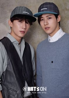 Gong Chan CNU - Hats On S/S 2015