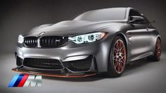 BMW Concept M4 GTS. High-performance model.