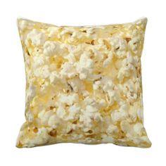 FRESH POPCORN Movie night Pillow http://www.zazzle.com/fresh_popcorn_movie_night_pillow-189782971071367757?rf=238282136580680600