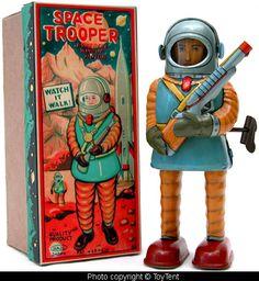 Haji Space Trooper - made in Japan