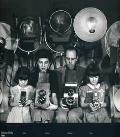 Philippe Halsman and Family, 1950--Philippe Halsman was an American portrait photographer. He was born in Riga in the part of the Russian Empire which later became Latvia, and died in New York City.