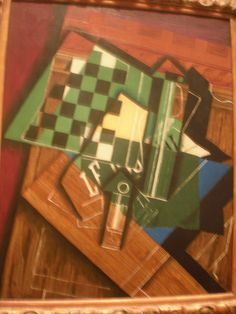 Juan Gris 'The Checkerboard' 1915, The Institute of Art of Chicago