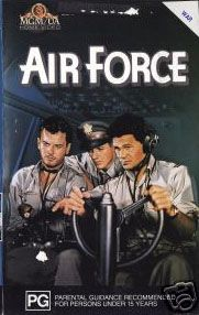 Air Force Directed by Howard Hawks Produced by Hal B. Wallis Jack L. Warner (executive producer) Written by Dudley Nichols Starring John Garfield John Ridgely Gig Young Arthur Kennedy Harry Carey Music by Leo F. Forbstein Cinematography James Wong Howe Elmer Dyer Charles A. Marshall Edited by George Amy Distributed by Warner Bros. Release dates February 3, 1943 Running time 124 minutes Country United States Language English