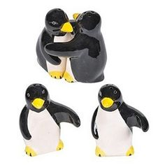 Our hand crafted and painted ceramic penguin lovers salt and pepper shakers are sculpted to be hugging in a perfect penguin embrace when they are not being used to season your food. The penguins are a Penguin World, Penguin Art, Penguin Love, Salt And Pepper Set, Ceramic Painting, Salt Pepper Shakers, Polar Bear, Stuffed Animals, Stuffed Peppers