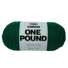 #Caron-One #Pound Yarn. The perfect medium weight yarn for all your knitting and crocheting projects! Weight category: 3. Content: 100% Acrylic. Put-up: 16oz/453....