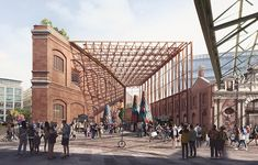 Museum of London's New Home Receives Planning Approval | ArchDaily London Museums, London City, Forbes Massie, Stanton Williams, London Docklands, New Museum, Civil Engineering, Future City, Architecture Plan
