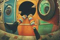 vivir dentro de un lavarropas...